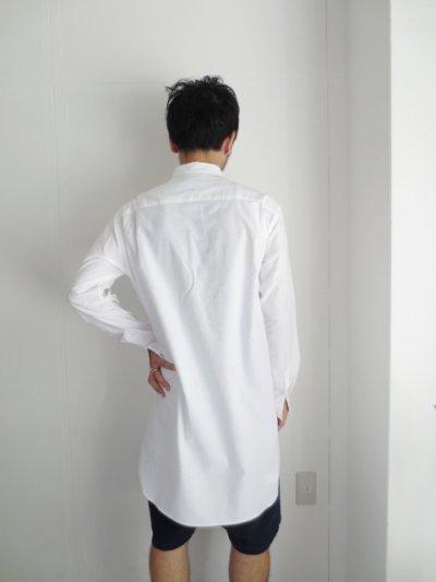 画像3: Sise / フロントスリットロングシャツ