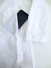 画像3: yoshio kubo / ノーカラースーパーロングシャツ[通常価格より40%off] (3)