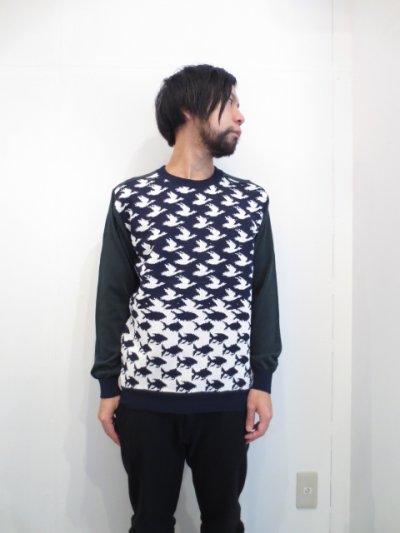 画像1: yoshio kubo / ジャガードセーター