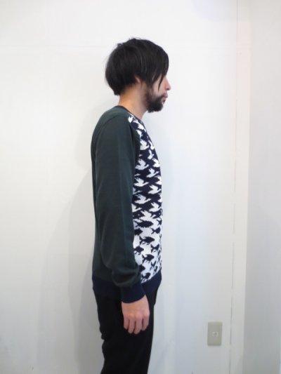 画像2: yoshio kubo / ジャガードセーター