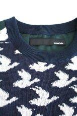 画像2: yoshio kubo / ジャガードセーター (2)