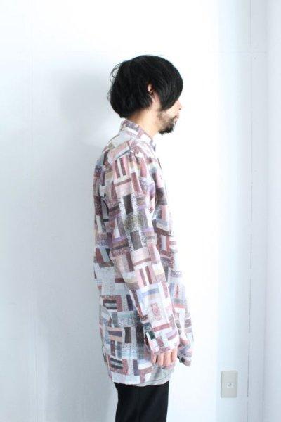 画像2: STOF / メルティングコラージュシャツ