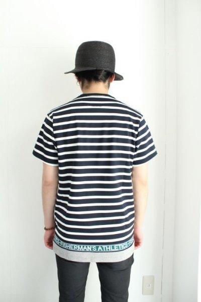 画像3: yoshio kubo / 切替ボーダーTシャツ