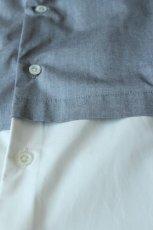 画像6: ETHOSENS / フェイクレイヤードシャツ (6)