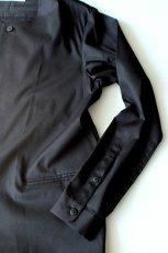 画像5: ETHOSENS / ノーカラーロングシャツ (5)