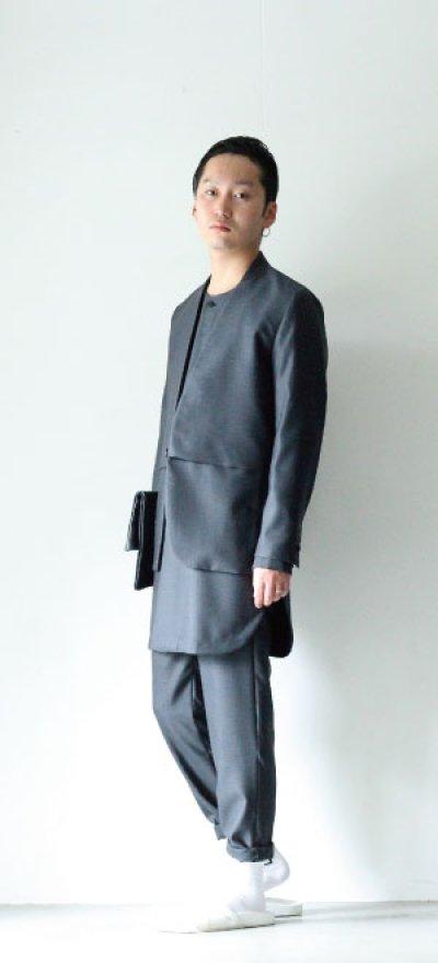 画像1: ETHOSENS / オリジナルバラシャシャツコート