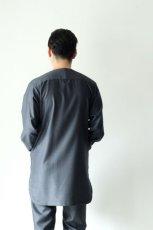 画像10: ETHOSENS / オリジナルバラシャシャツコート (10)