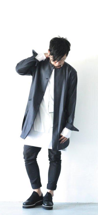 画像2: ETHOSENS / オリジナルバラシャシャツコート