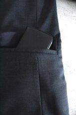 画像14: ETHOSENS / スタンドカラー1Bジャケット (14)