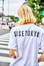 画像2: S I S E / バックTOKYOプリントTシャツ (2)