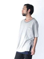 画像10: Licht Bestreben / フラップポケットボックスTシャツ (10)