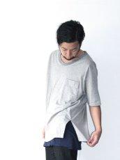画像9: Licht Bestreben / フラップポケットボックスTシャツ (9)