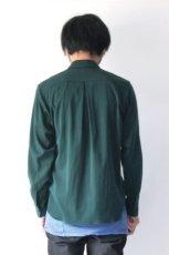 画像5: ETHOSENS / テンセルレイヤードシャツ (5)