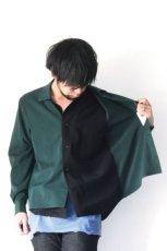 画像9: ETHOSENS / テンセルレイヤードシャツ (9)