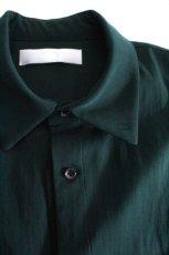 画像14: ETHOSENS / テンセルレイヤードシャツ (14)