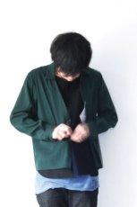画像12: ETHOSENS / テンセルレイヤードシャツ (12)