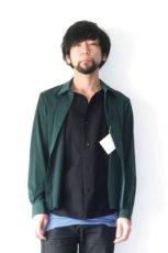 画像10: ETHOSENS / テンセルレイヤードシャツ (10)