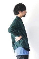 画像6: ETHOSENS / テンセルレイヤードシャツ (6)