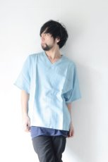 画像9: S I S E / デニムビッグポケットTシャツ (9)