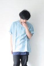 画像11: S I S E / デニムビッグポケットTシャツ (11)