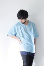 画像4: S I S E / デニムビッグポケットTシャツ (4)
