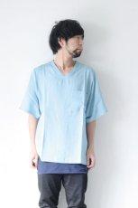 画像3: S I S E / デニムビッグポケットTシャツ (3)
