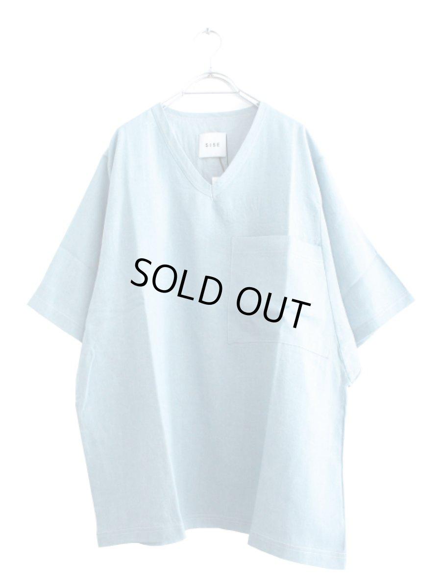 画像1: S I S E / デニムビッグポケットTシャツ (1)