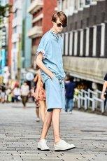 画像2: S I S E / デニムビッグポケットTシャツ (2)