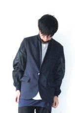 画像7: yoshio kubo / ボンバースリーブジャケット (7)