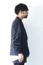 画像10: yoshio kubo / ボンバースリーブジャケット (10)