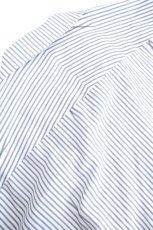 画像17: ETHOSENS / 交差ストライプビッグシャツ (17)