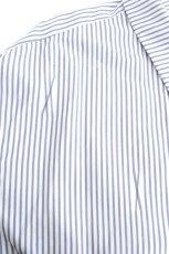 画像13: ETHOSENS / 交差ストライプビッグシャツ (13)