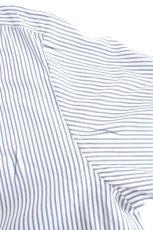 画像14: ETHOSENS / 交差ストライプビッグシャツ (14)