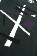 画像16: ETHOSENS / テンセル肩落としレイヤードシャツ (16)