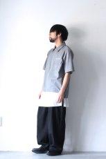 画像5: ETHOSENS / 半袖ジップシャツ (5)