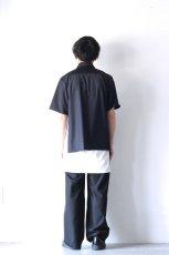 画像8: ETHOSENS / 半袖ジップシャツ (8)