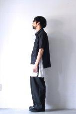 画像7: ETHOSENS / 半袖ジップシャツ (7)