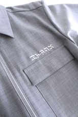 画像16: ETHOSENS / 半袖ジップシャツ (16)