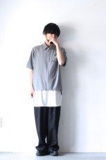 画像3: ETHOSENS / 半袖ジップシャツ (3)