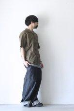 画像7: UNDECORATEDMAN / コットンリネンオープンカラーシャツ (7)