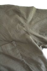 画像13: UNDECORATEDMAN / コットンリネンオープンカラーシャツ (13)