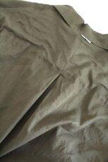 画像17: UNDECORATEDMAN / コットンリネンオープンカラーシャツ (17)