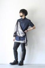 画像3: yoshio kubo / スカーフ付半袖シャツ (3)