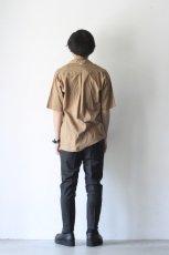 画像5: UNDECORATEDMAN / コットンリネンオープンカラーシャツ (5)