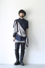 画像2: yoshio kubo / スカーフ付半袖シャツ (2)