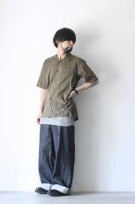 画像4: UNDECORATEDMAN / コットンリネンオープンカラーシャツ (4)