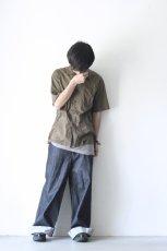 画像8: UNDECORATEDMAN / コットンリネンオープンカラーシャツ (8)