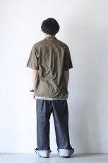 画像6: UNDECORATEDMAN / コットンリネンオープンカラーシャツ (6)