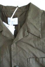 画像12: UNDECORATEDMAN / コットンリネンオープンカラーシャツ (12)