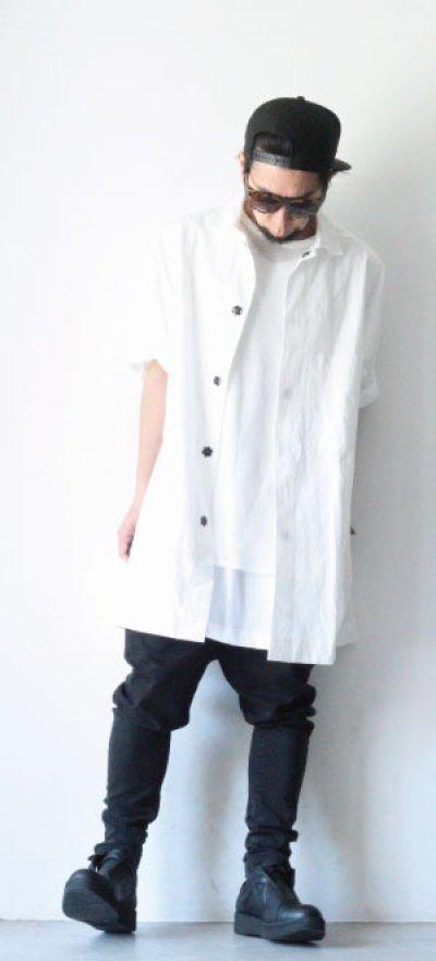 画像1: A.F ARTEFACT / ボンバーシャツ